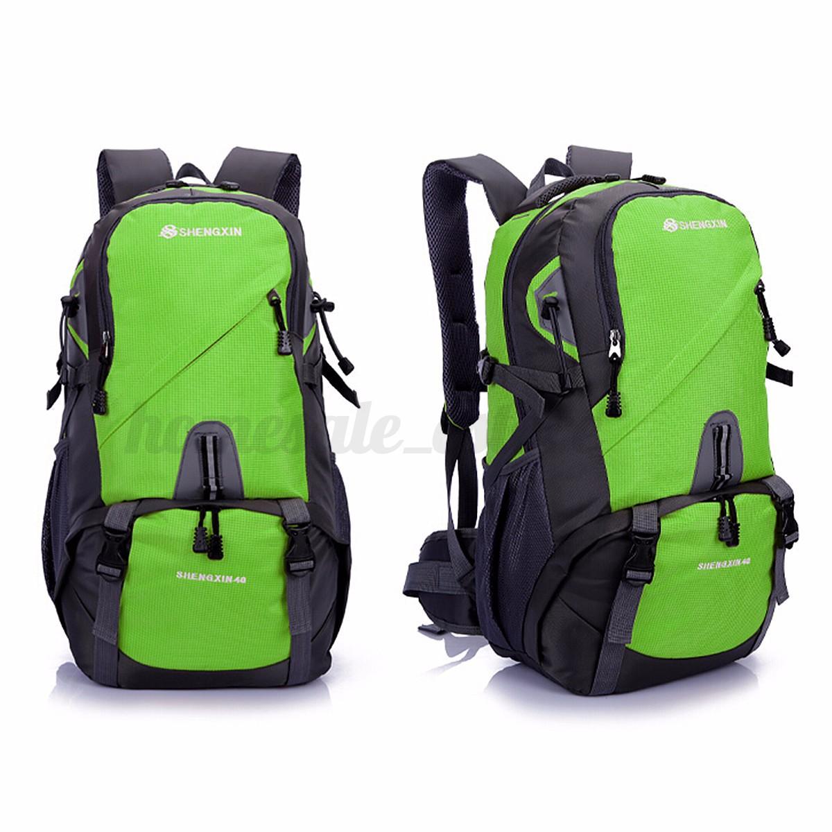 40L Women Men Waterproof Travel Camping Sports Hiking Daypack Outdoor Backpack