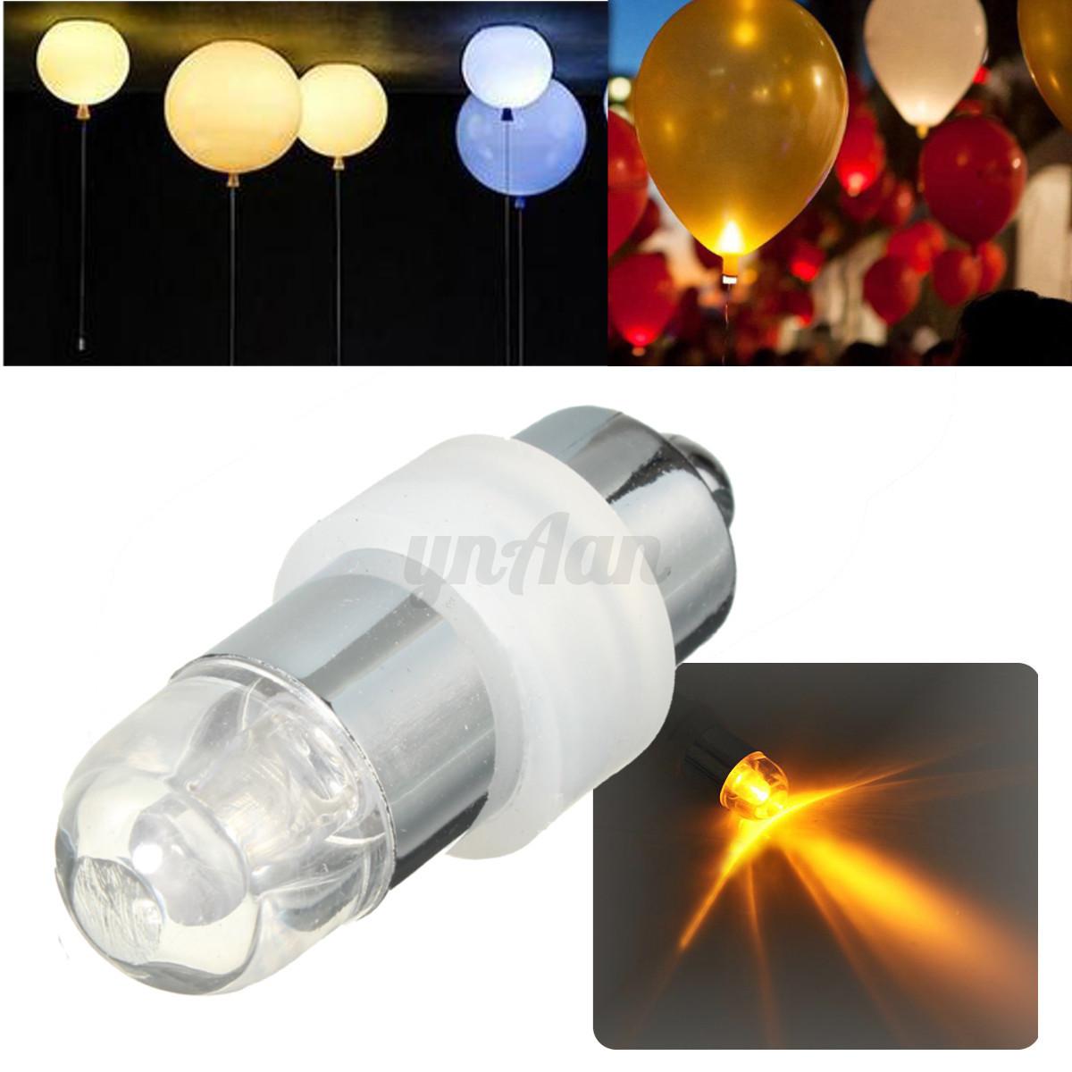 Waterproof Flashing LED Balloon Lantern Light Lamp Wedding Birthday Party Decor