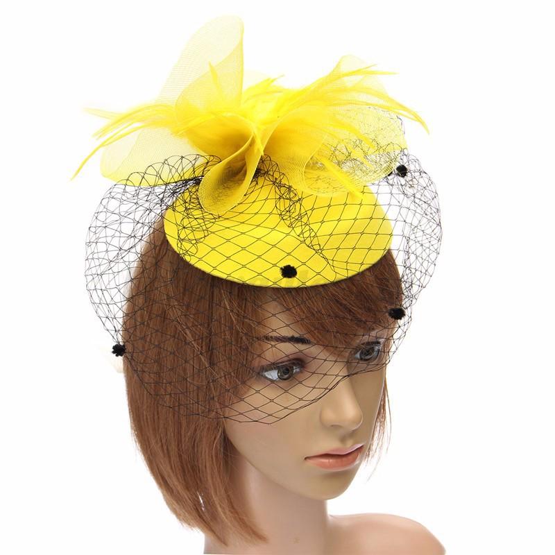 women frau damen mini hut m tze hair clip hochzeit wedding. Black Bedroom Furniture Sets. Home Design Ideas