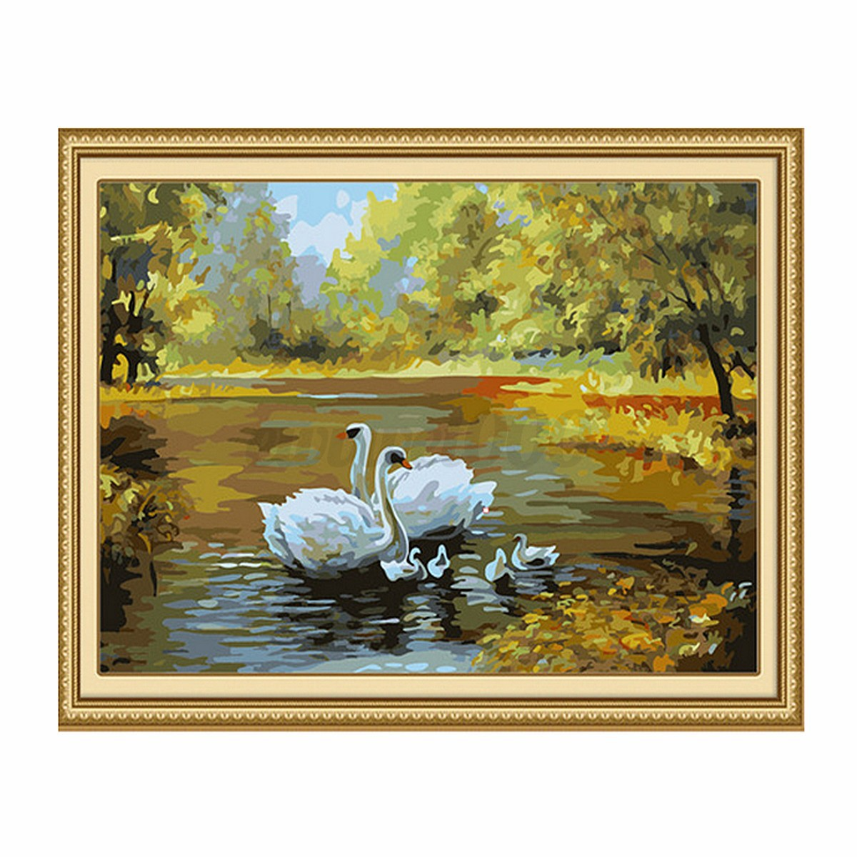"""New DIY Paint by Number 16"""" 20"""" Kit Fall in Love Painting ..."""