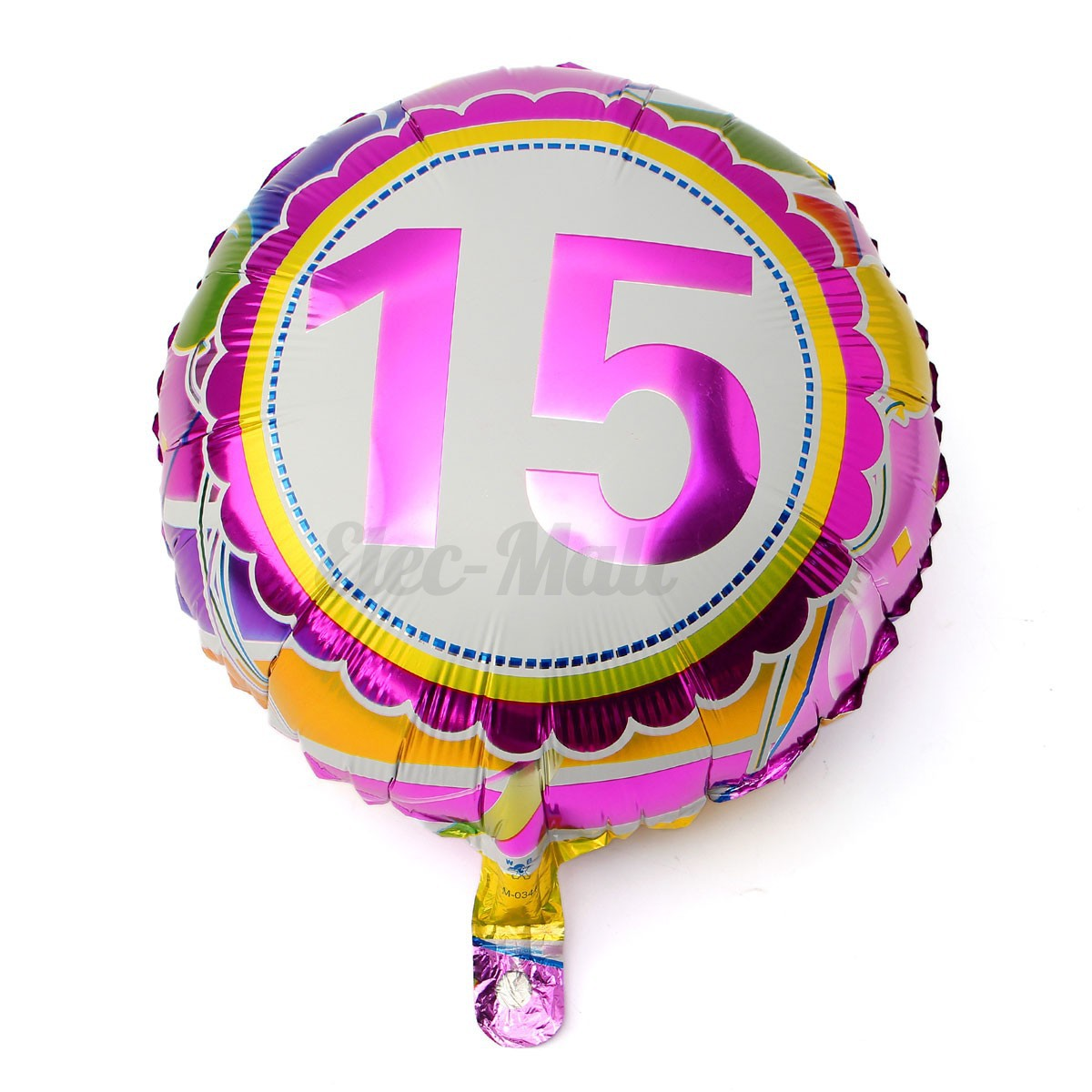 Foil balloon helium balloons christening birthday wedding for Helium balloon decoration