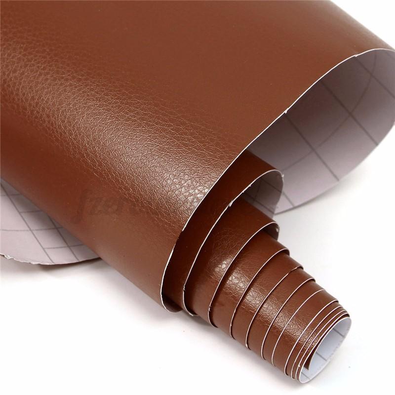 auto car interior sticker diy leather texture dashboard trim wrap sheet film hot ebay. Black Bedroom Furniture Sets. Home Design Ideas