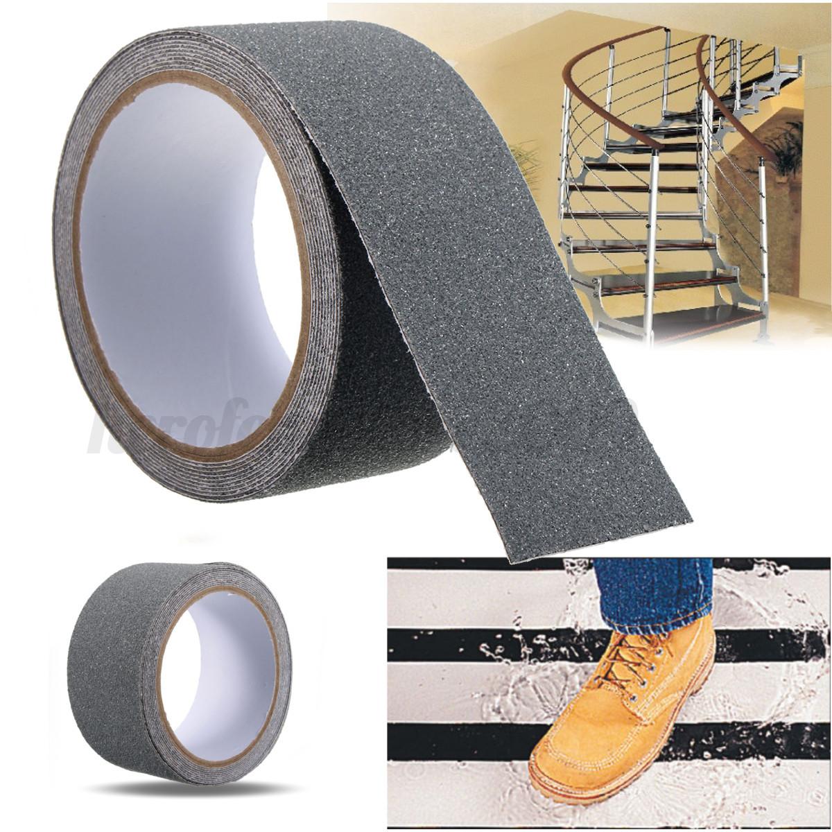 Anti Slip Floor Grips : M cm floor safety non skid tape roll anti slip adhesive