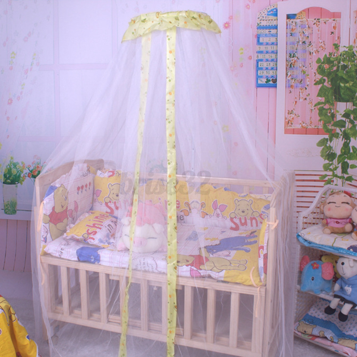 Baby Canopy For Crib: Baby Infant Nursery Mosquito Bedding Crib Canopy Net