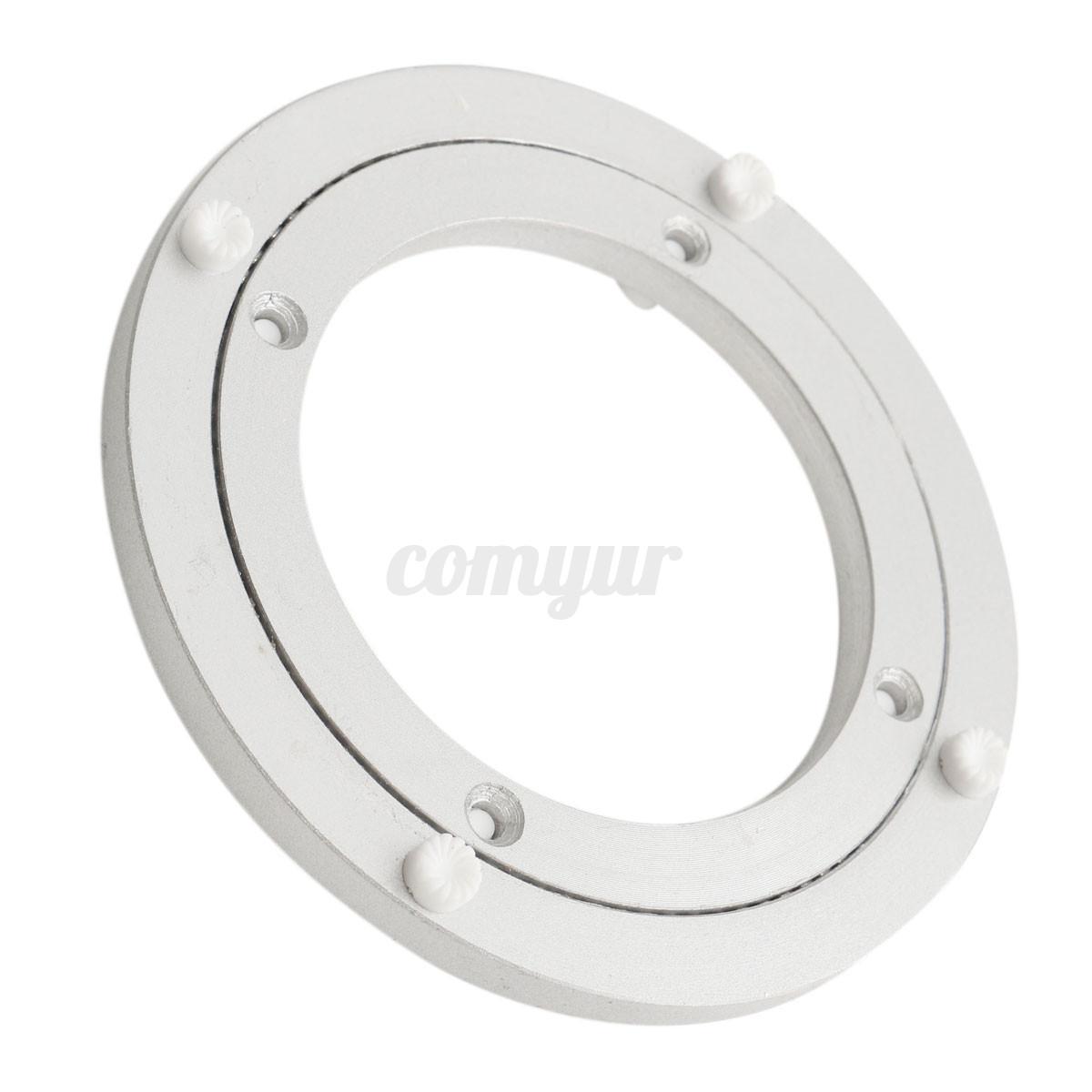Aluminium Lazy Susan Swivel Bearing Turntable Table Plate 5 8 10 12 16 18 ''  UK