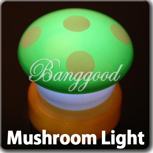 Veilleuse nuit enfant b b led touch tacile champignon lampe chevet d co lumi - Lampe touch champignon ...