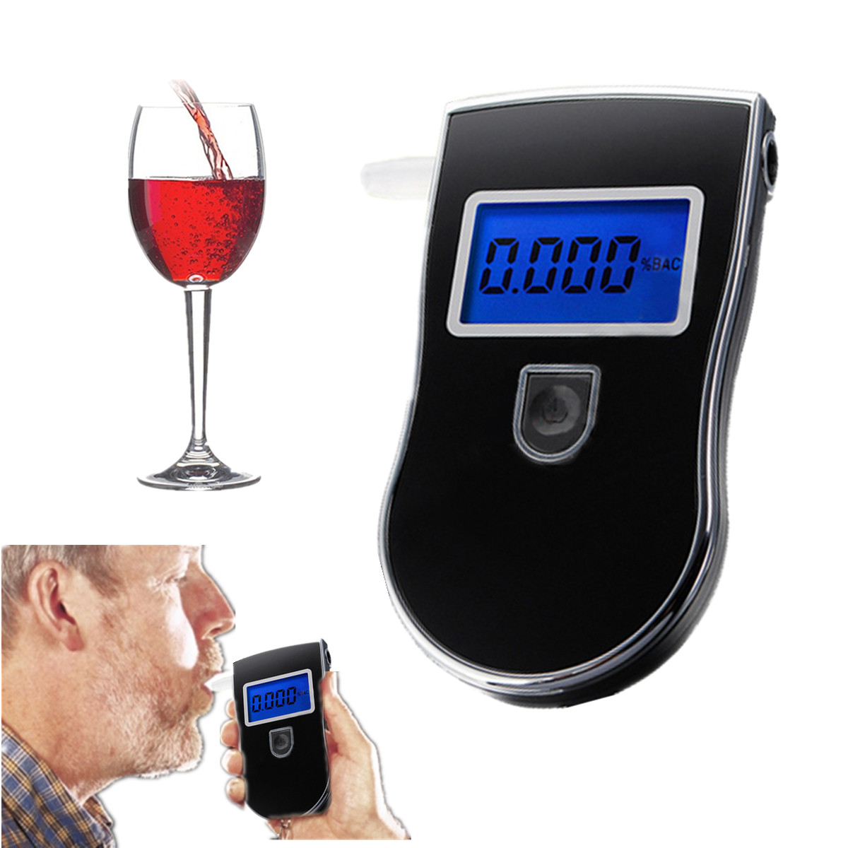 how to detect for alcohol contamination
