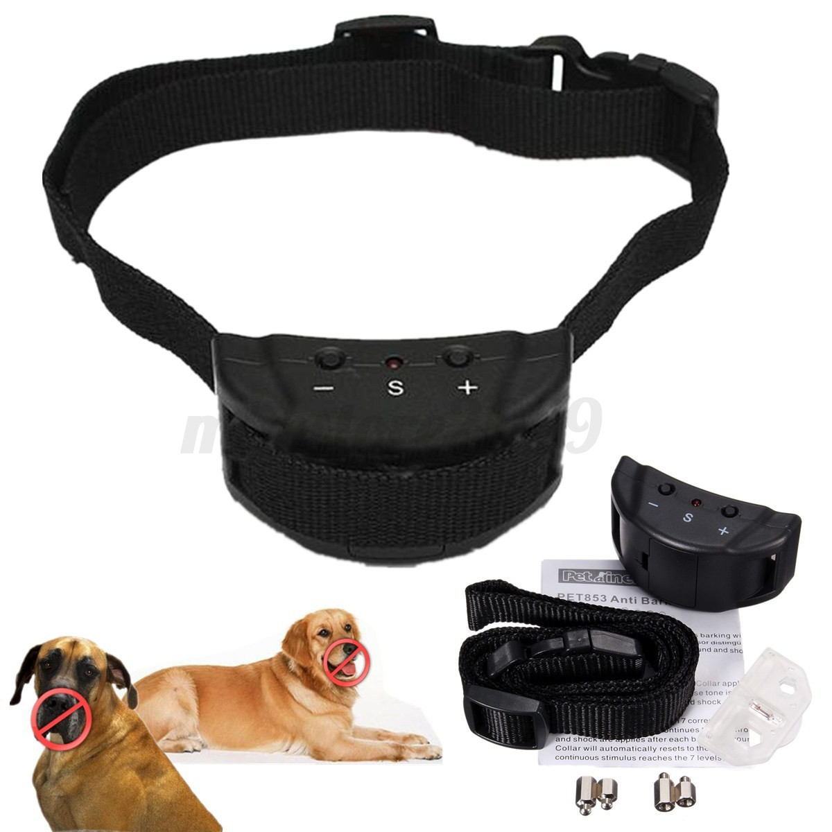Electronic Anti Bark Control Collar Automatic for Training ...