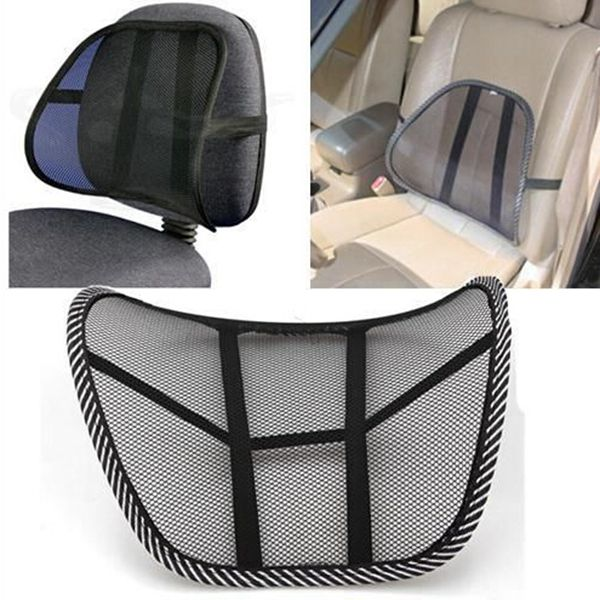 mesh back brace lumbar support office chair home sofa car seat cushion