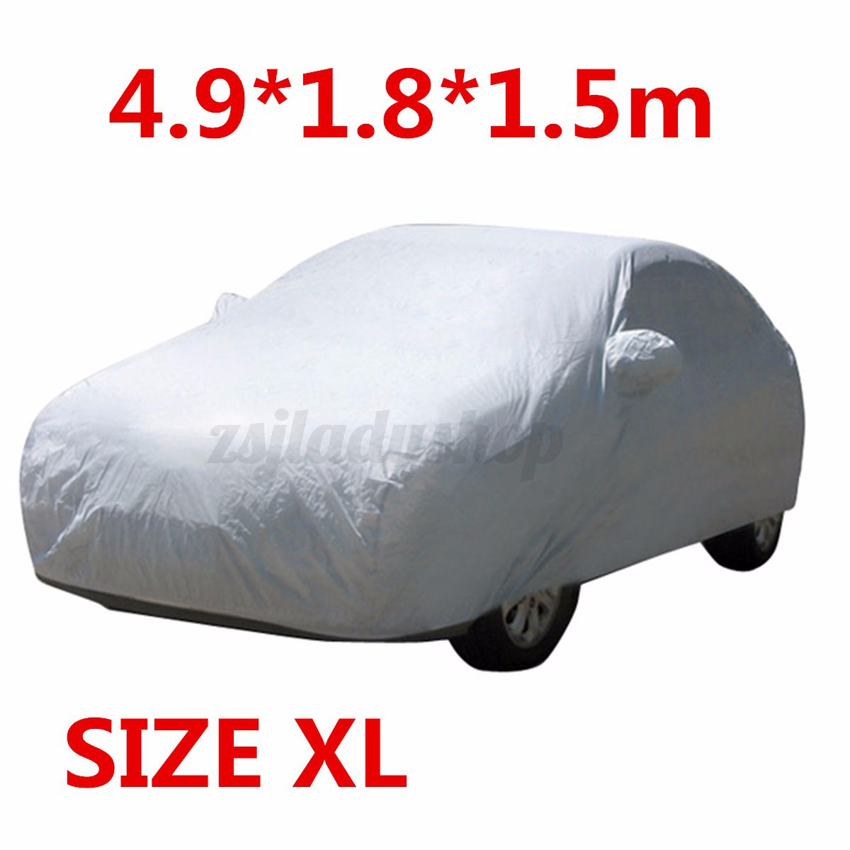 Full Car Cover Waterproof Outdoor Sun Uv Snow Dust Ebay