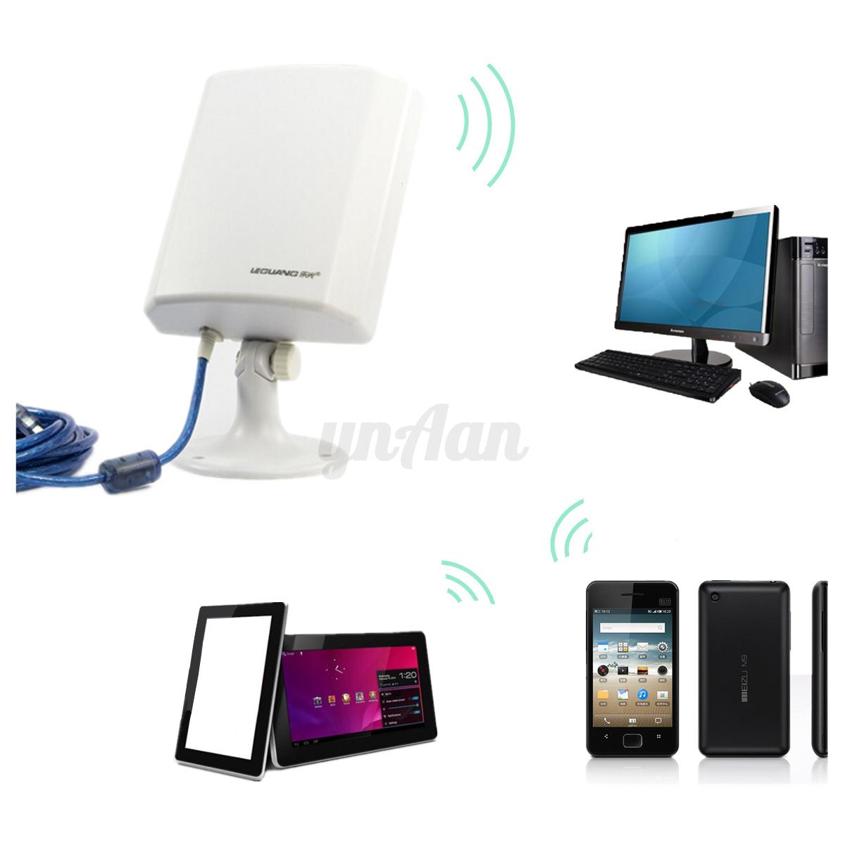 usb150m wifi sans fil antenne ext rieure adaptateur carte. Black Bedroom Furniture Sets. Home Design Ideas