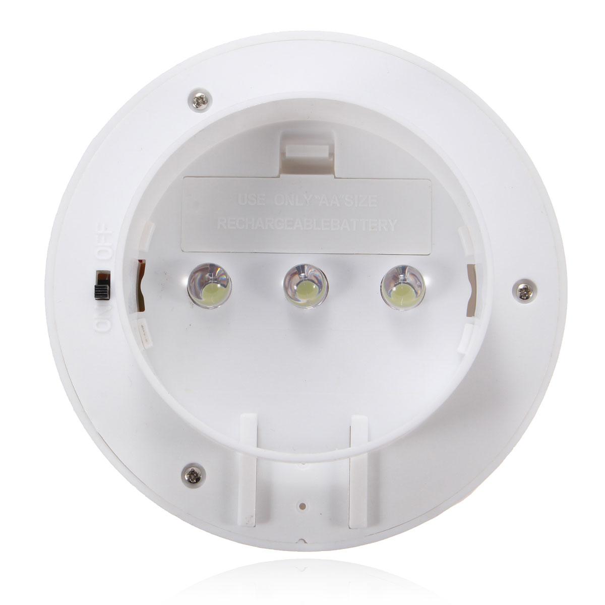 Solaire 3 LED Lampe Murale Capture Mouvement Détecteur ...