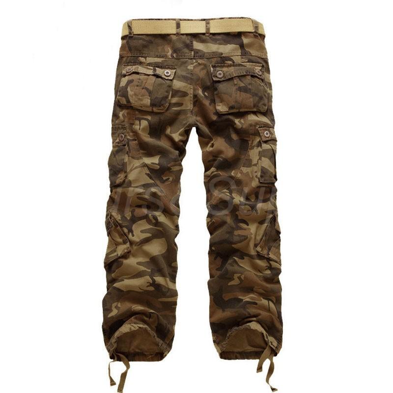 herren hose camouflage l ssig cargo pants milit r trousers casual freizeithose ebay. Black Bedroom Furniture Sets. Home Design Ideas