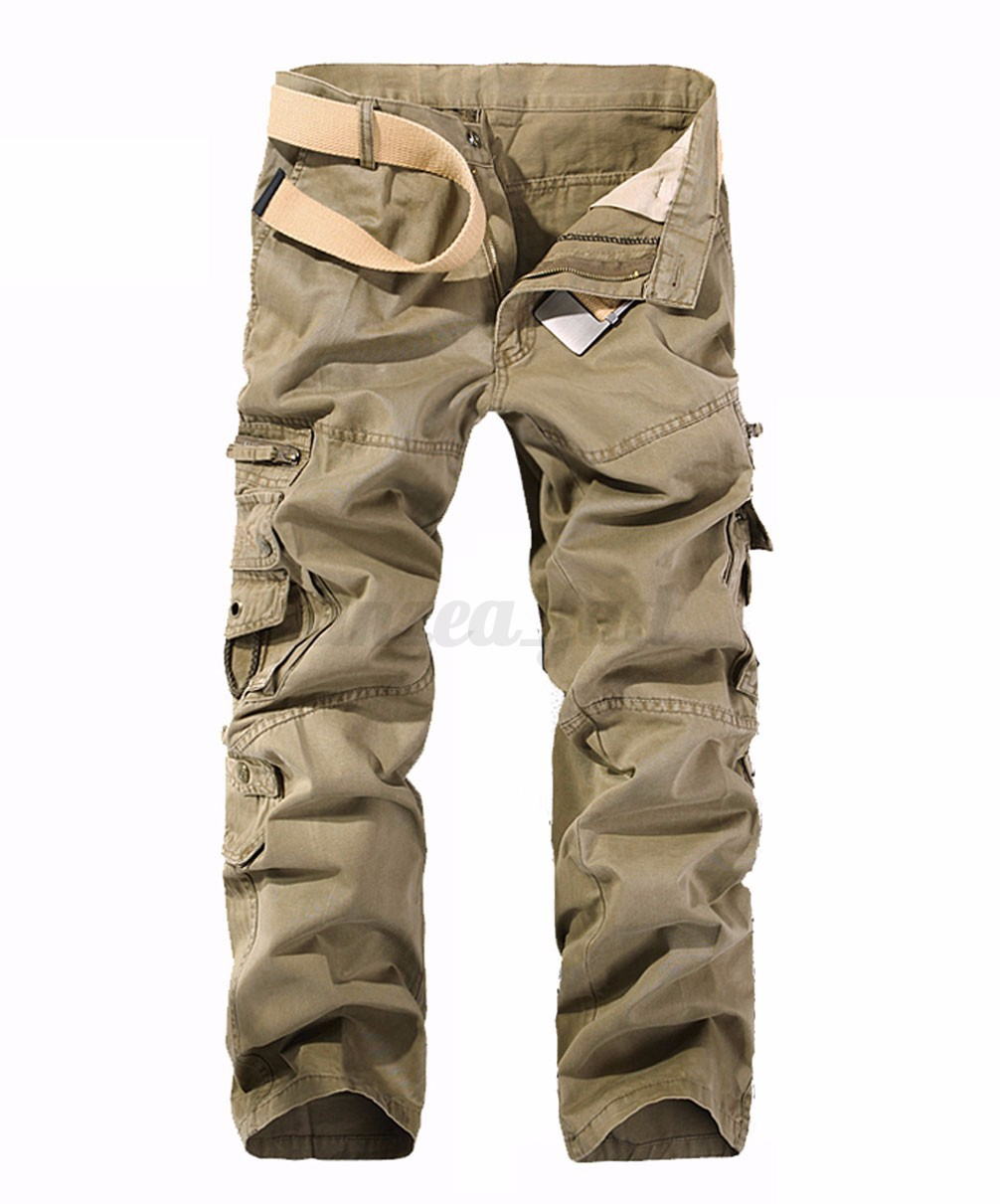 herren hose camouflage l ssig cargo pants milit r trousers casual freizeithose. Black Bedroom Furniture Sets. Home Design Ideas