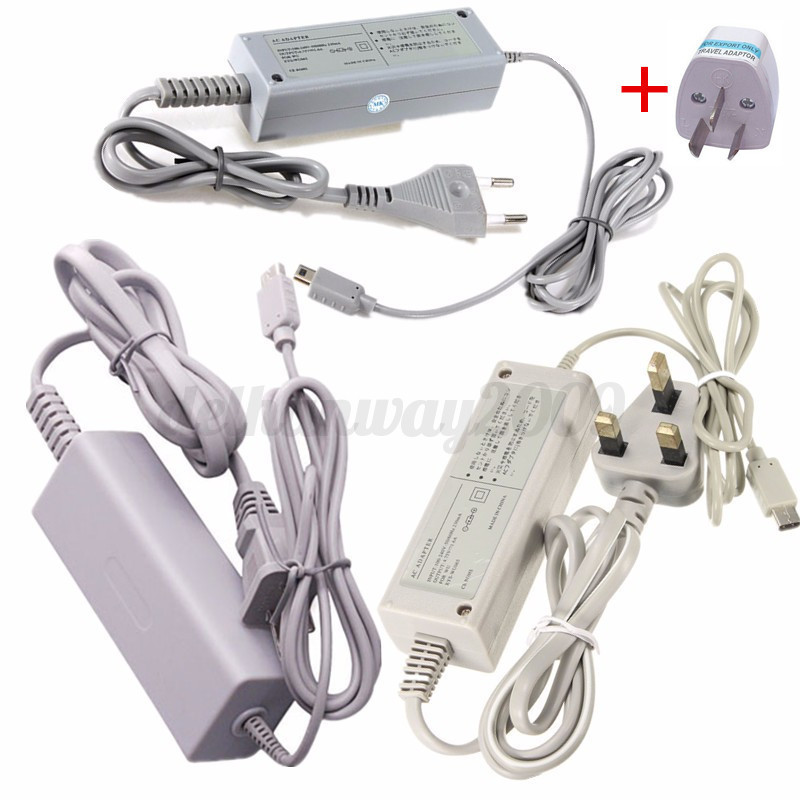 100 240v Ac Adapter Main Power Supply Charger Cord For Wii