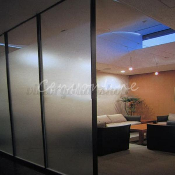 1m 3m film adh sif opacifiant d poli translucide vitre for Adhesif translucide fenetre