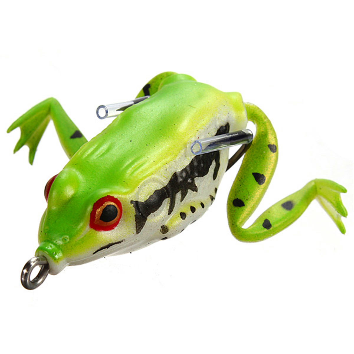 40 55mm soft topwater fishing ray frog lures bass baits for Frogs for fishing