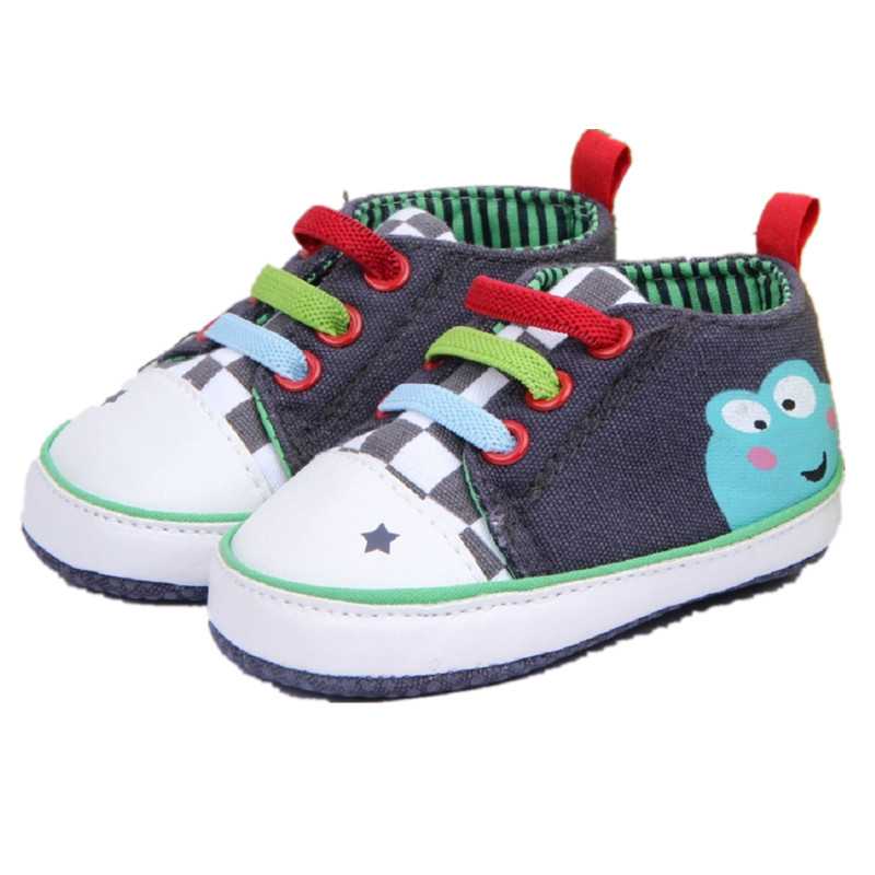 Baby Infant Boys Girl Toodler Soft Sole Crib Shoes Sneakers Moccasin 0-24Months