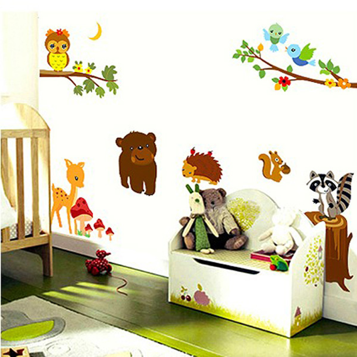 Http Ebay Com Itm Animal Tree Jungle Car Removable Vinyl Wall Decal Stickers Kids Room Home Decor 311401555574