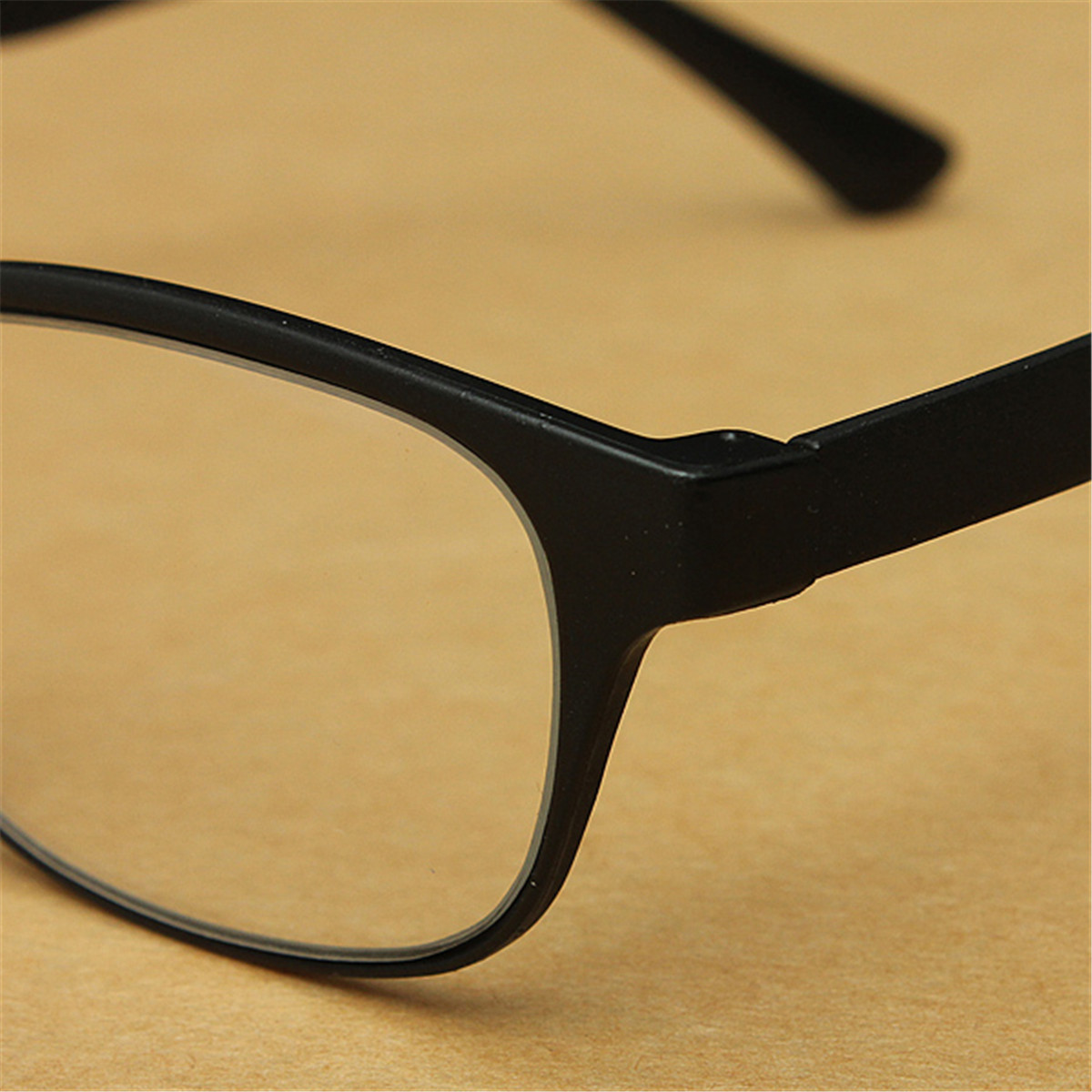 Plastic Framed Fashion Glasses : Men Women Fashion Matte Surface Portable Reading Glasses ...