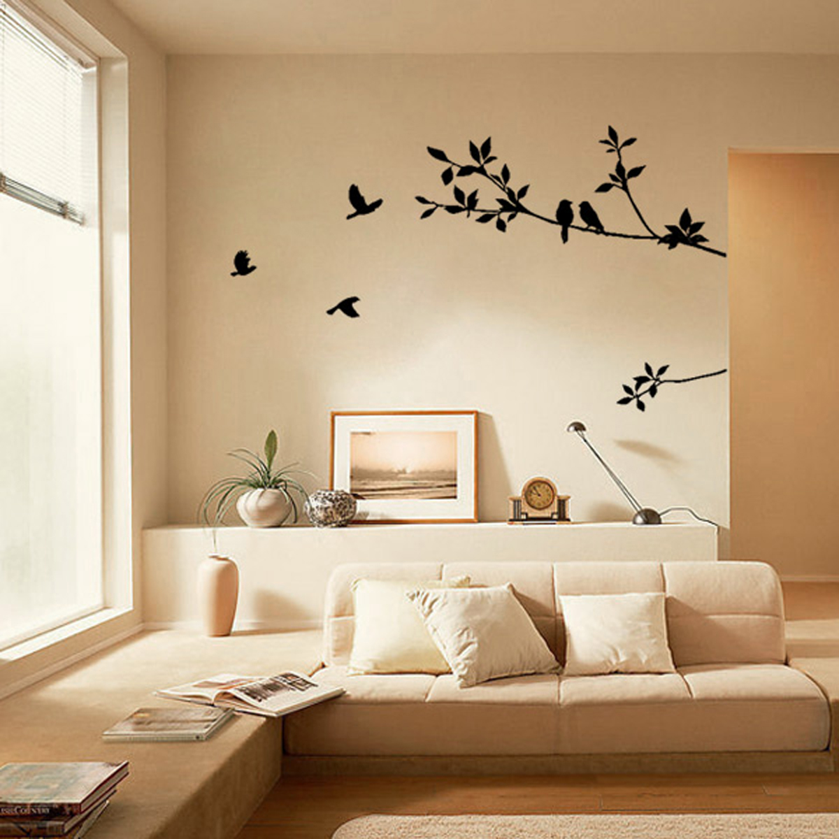Multi Theme Quote Word Vinyl DIY Art Decal Wall Stickers Home - Diy wall decor birds