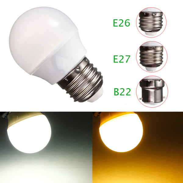 e27 e26 b22 3w 8 led globe bulb ampoule spot light downlight blanc chaud 200lm ebay. Black Bedroom Furniture Sets. Home Design Ideas