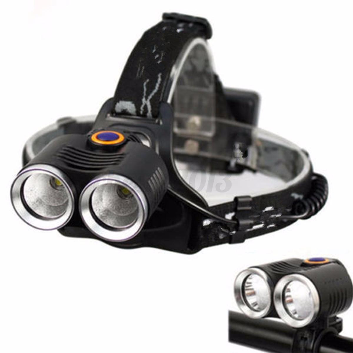 12000LM 2X T6 LED Zoom Bike Cycling Bicyle Headlight ...