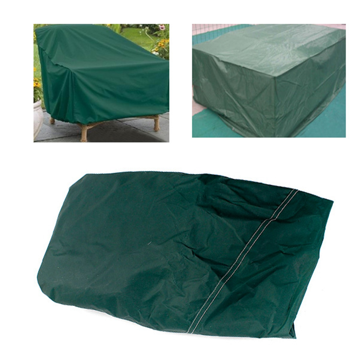 RECT Outdoor Furniture Waterproof Cover Patio Dining ...