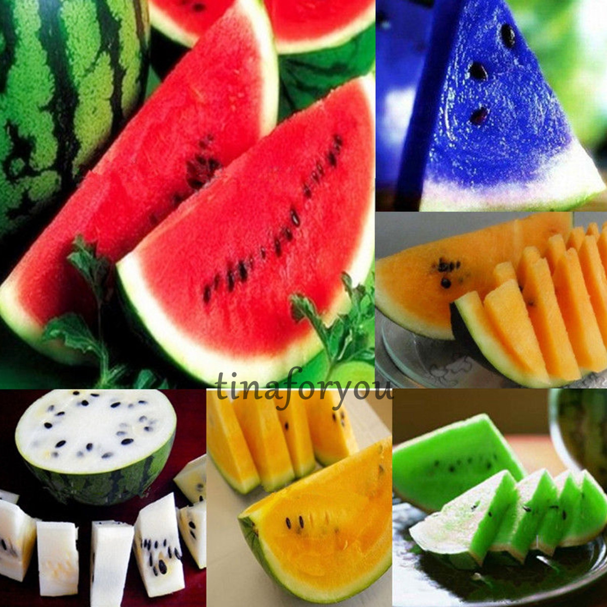 10pc Rare Sweet Watermelon Seeds Vegetable Fruits Seed New ...