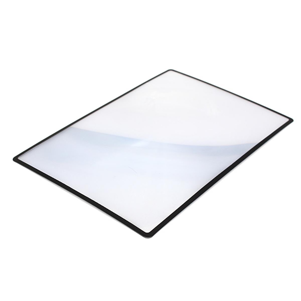 A5 feuille loupe miroir magnifier 180x120mm agrandissement pvc 3x lecture carte ebay for Miroir loupe