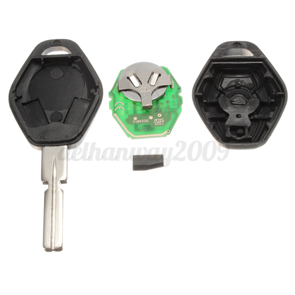 Bmw Z3 Battery: 3 Button Remote Key Fob FULL REPAIR KIT + Battery For BMW