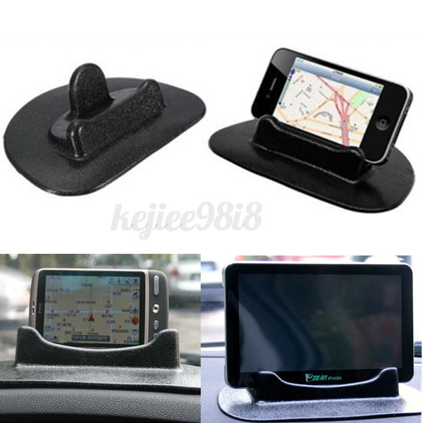 auto kfz antirutsch matte pad handy halterung halter st nder f r gps navi tab pc ebay. Black Bedroom Furniture Sets. Home Design Ideas