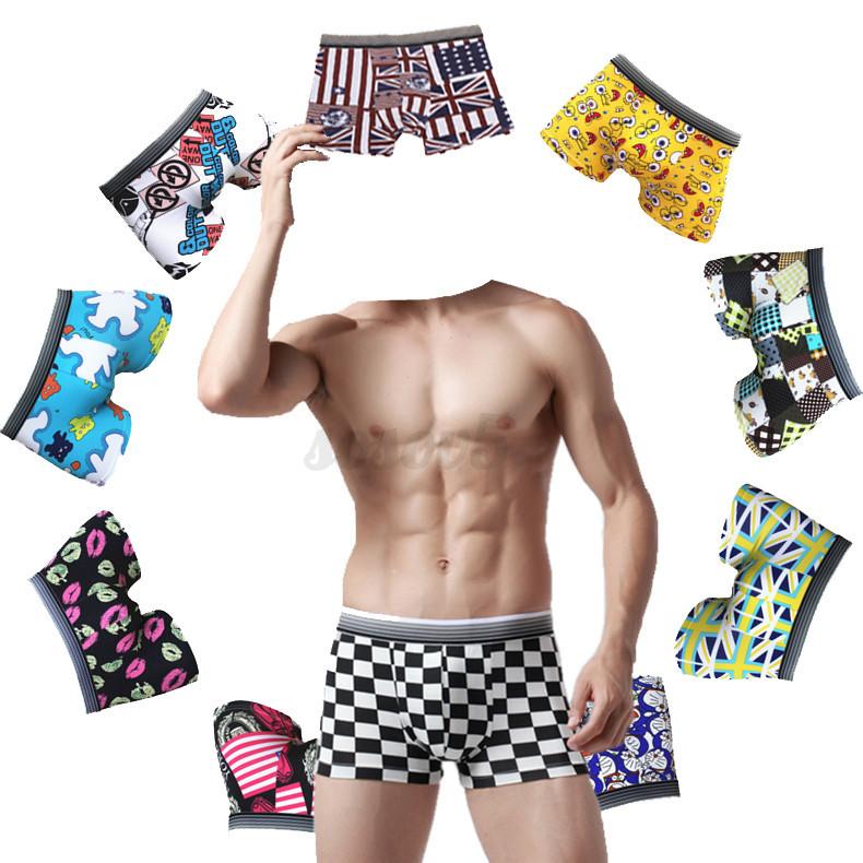 Hombre tanga calzoncillos ropa interior boxer algod n for Ropa interior de algodon