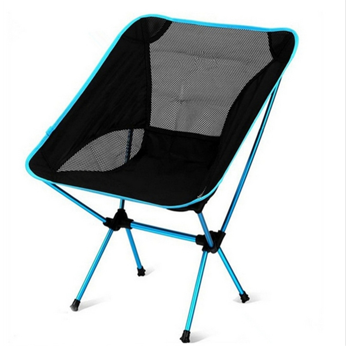 Portable Outdoor Folding Seat Stool Fishing Camping Garden Beach Chair Carry