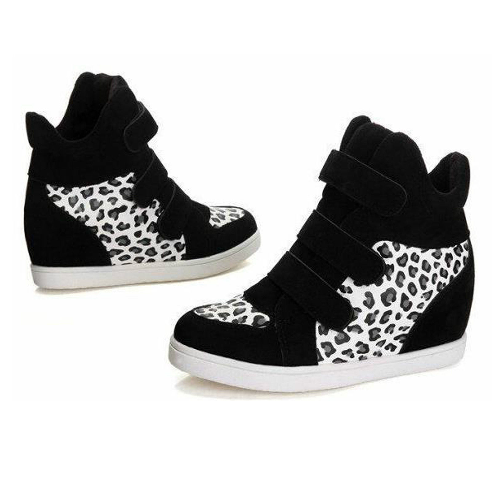 2016 new fashion wedge heels high top ankle