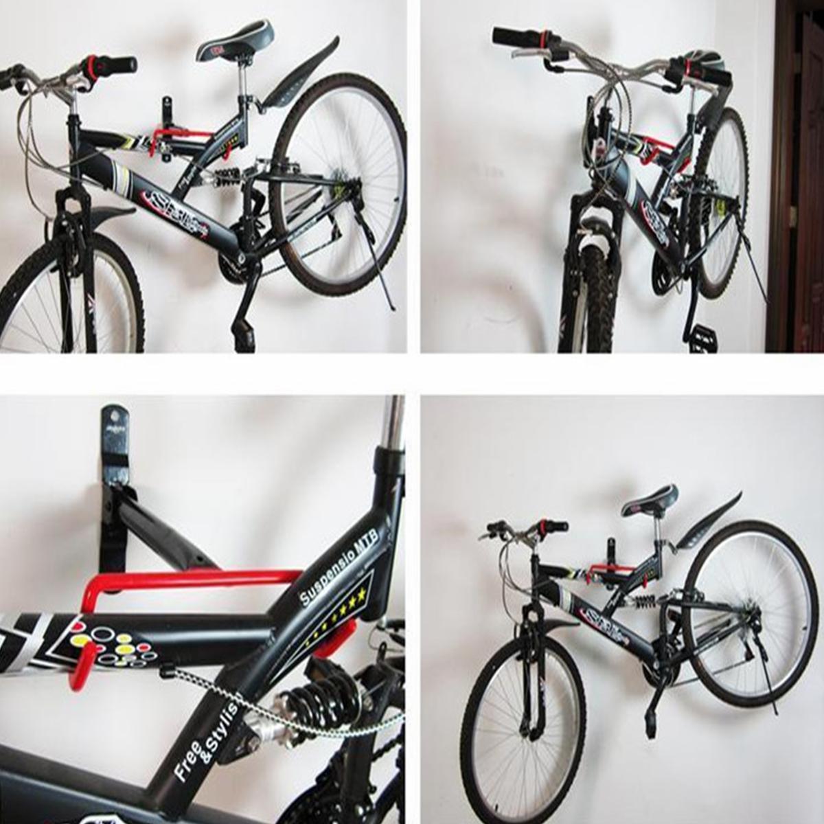 Cycling Bicycle Storage Garage Wall Mount Rack Bike Steel