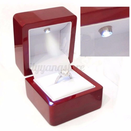Wedding Ring Gift Box : Jewelry & Watches > Jewelry Boxes & Organizers > Jewelry Boxes