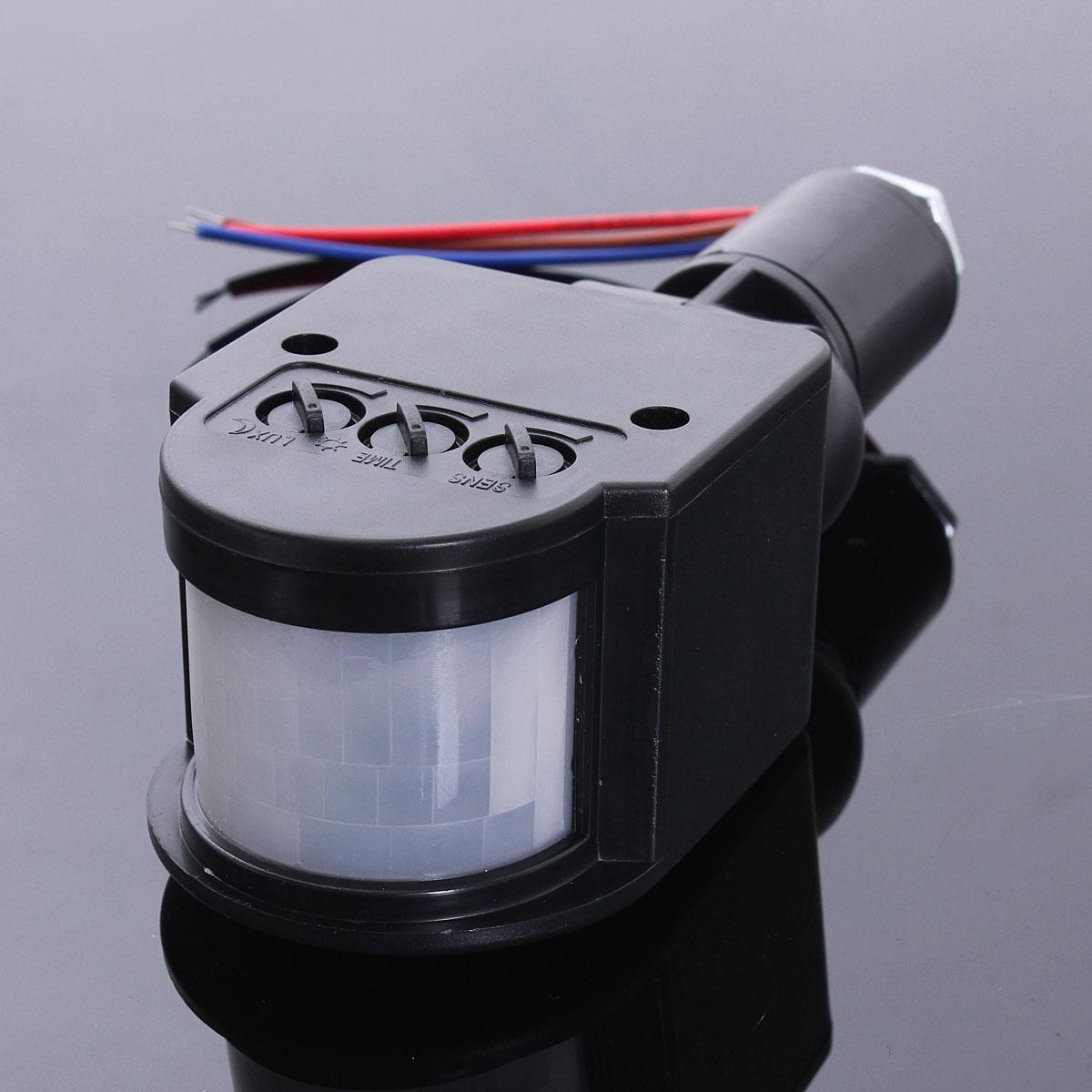 Outdoor motion sensor light adjustable for time and distance outdoor - Led Outdoor 110 220v Infrared Pir Motion Sensor Detector
