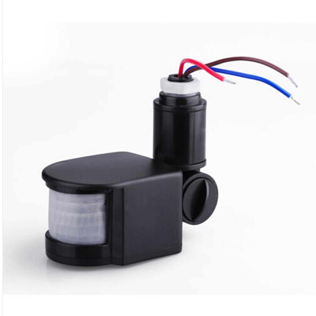 Outdoor LED Security Infrared PIR Motion Sensor Detector Wall Light 140? New eBay