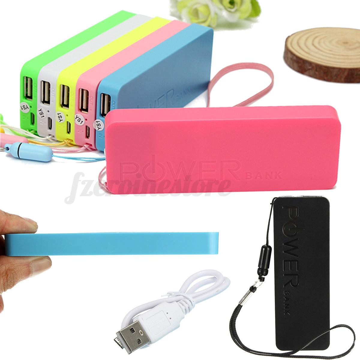 Ultrathin 5600mAh External Portable Power Bank USB Battery