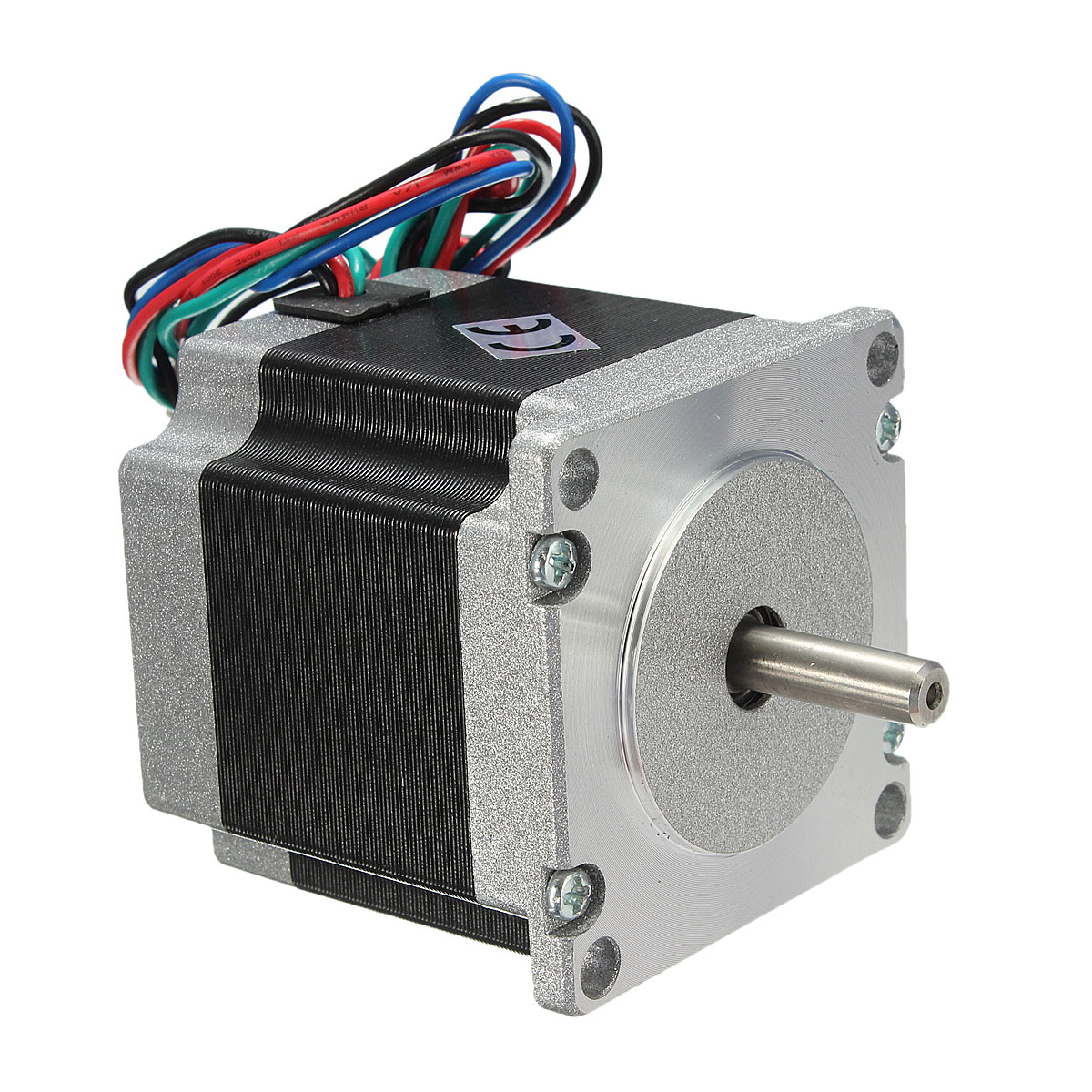 dc 24v nema 23 stepper motor single shaft 1 8 degre 4