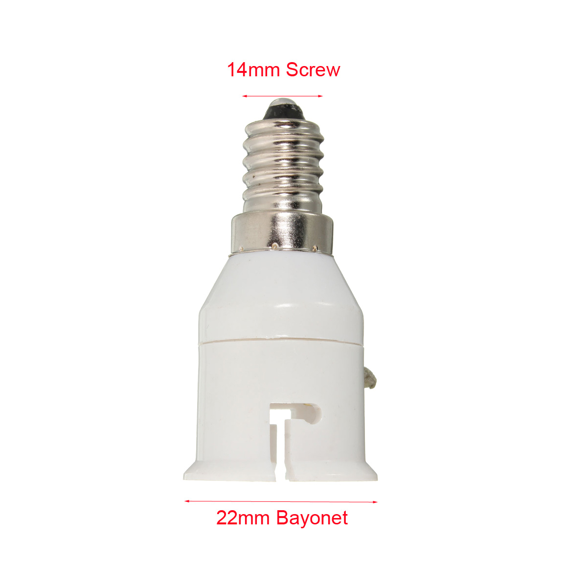 b22 to e27 e14 to b22 bayonet screw lamp light bulb. Black Bedroom Furniture Sets. Home Design Ideas
