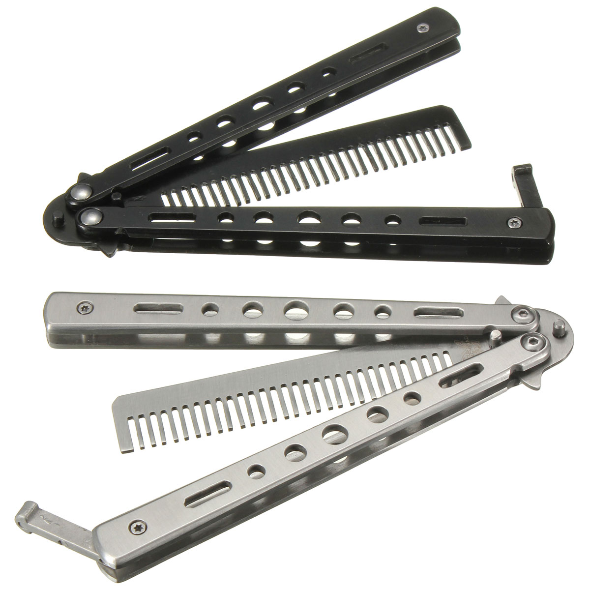 Practice Balisong Butterfly Comb Dull Trainer Security ...