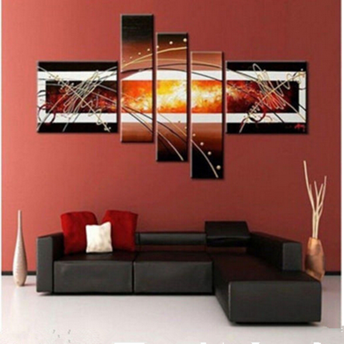 Oil Paint Wall Design : Lots modern abstract canvas art wall decor oil painting no