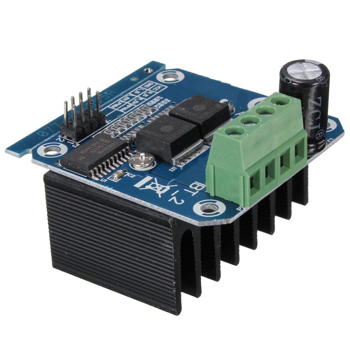 A h bridge drive pwm for arduino semiconductor bts b
