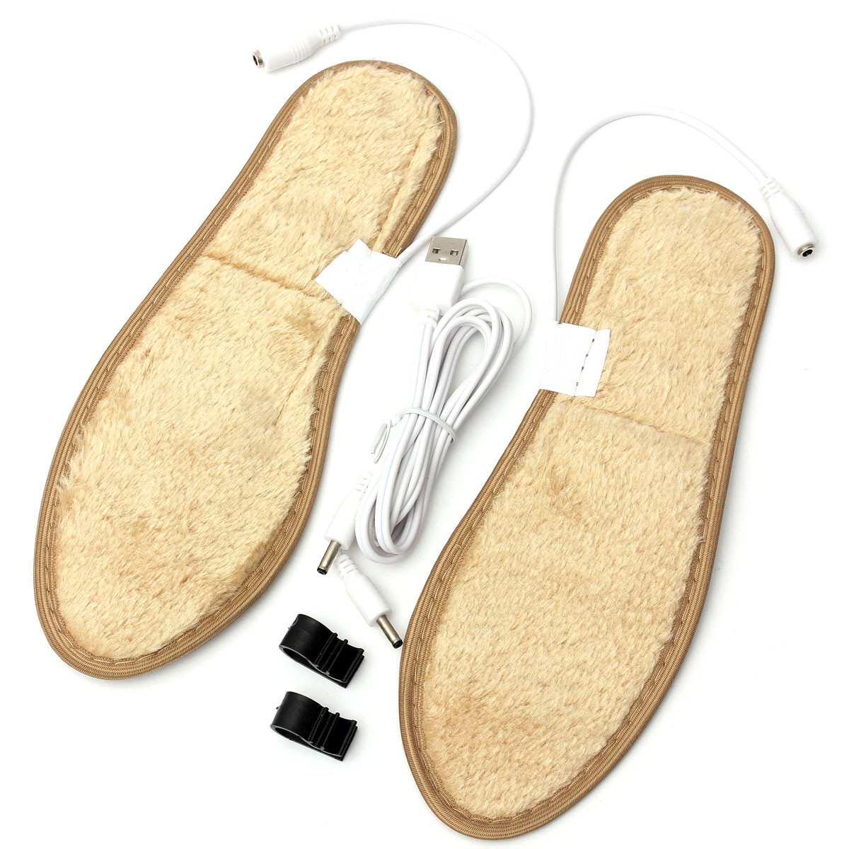 New Unisex Electric Foot Warmer Heater USB Charging Shoe Insoles Warm Shoes Pad