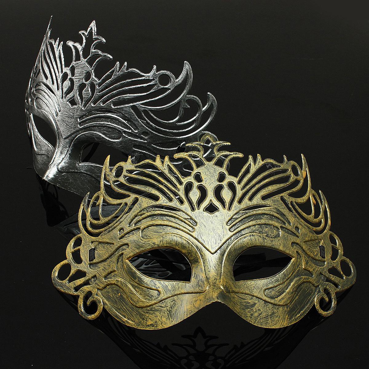 herren maske f r maskenball r mische party kost m gladiator augenmaske halbmaske ebay. Black Bedroom Furniture Sets. Home Design Ideas