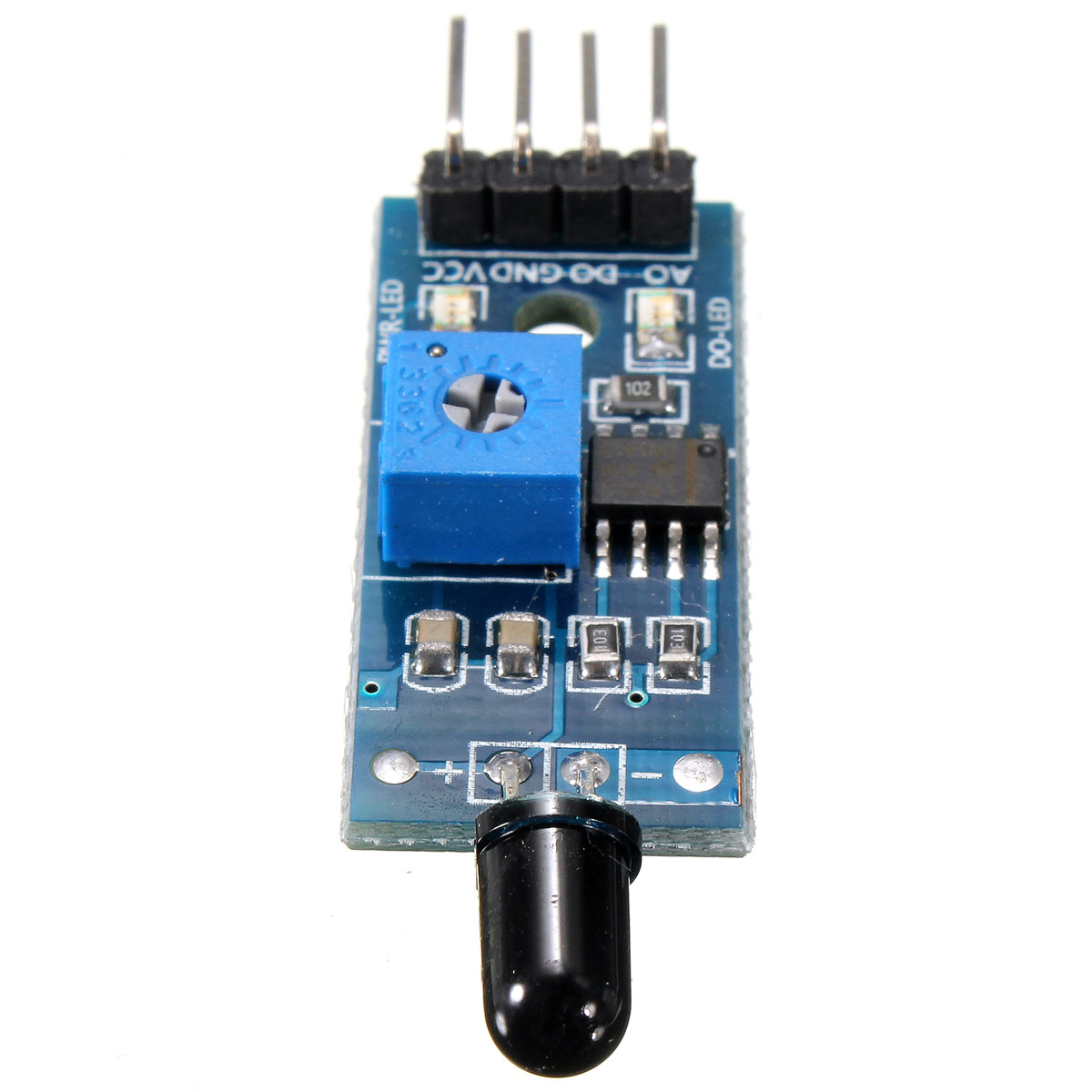 how to connect ir sensor module to arduino