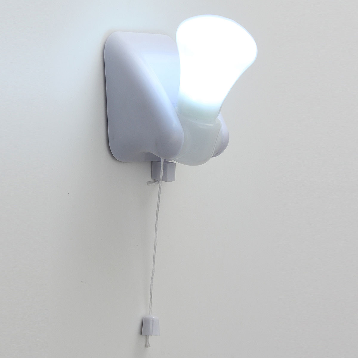 Stick Up Light Bulb Wireless Cordless Battery Operated Portable Night Wall Lamp eBay