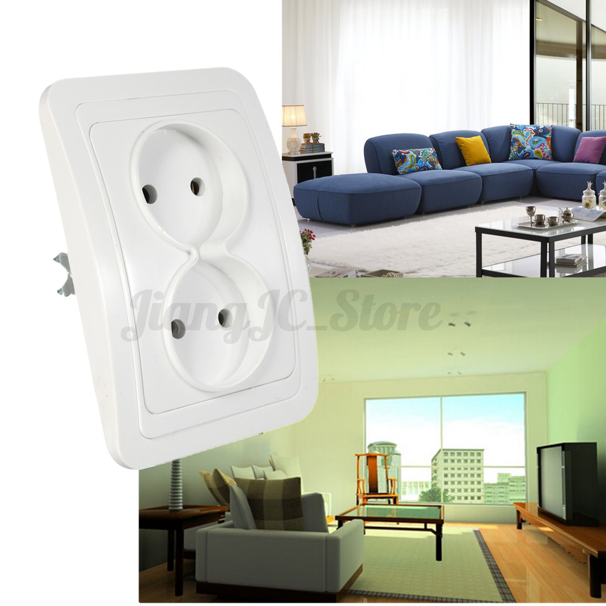 Electrical Wall Outlets : Universal electrical au usb power outlet light switch wall